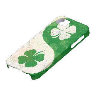 Irish Shamrock Yin Yang Custom Case-Mate ID™ iPhon iPhone SE/5/5s Case