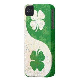 Irish Shamrock Yin Yang iPhone 4/4S Case-Mate Bare iPhone 4 Case