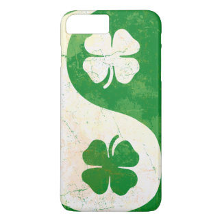 Irish Shamrock Yin Yang iPhone 7 Plus Case