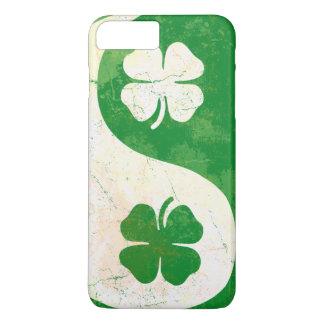 Irish Shamrock Yin Yang iPhone 8 Plus/7 Plus Case
