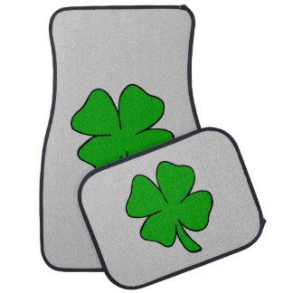 Irish Shamrocks Car Floor Mat