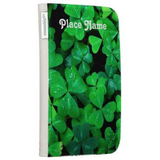 Irish Shamrocks Kindle 3 Case