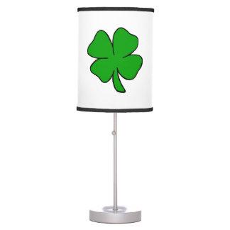 Irish Shamrocks Desk Lamps