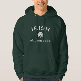 Irish Shamrocks Hoodie