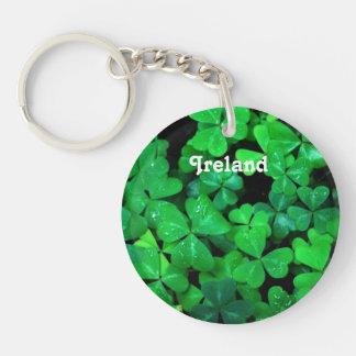 Irish Shamrocks Acrylic Keychains