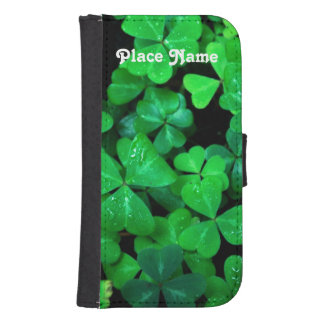 Irish Shamrocks Galaxy S4 Wallet