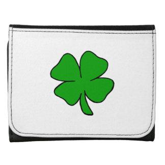 Irish Shamrocks Tri-fold Wallet