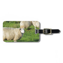 Irish Sheep Bag Tag