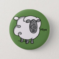 Irish sheep says hiya button