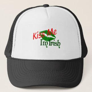 Irish Shirts Kiss Me I'm Irish Trucker Hat