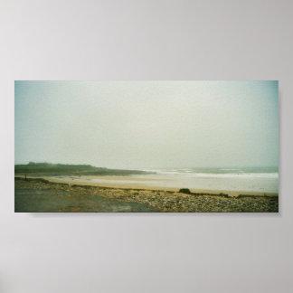 Irish shore poster