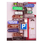 Irish Signpost Postcard
