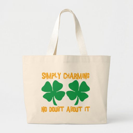 Irish - Simply Charming No Doubt About It Gift Canvas Bags
