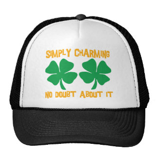 Irish - Simply Charming No Doubt About It Gift Trucker Hats