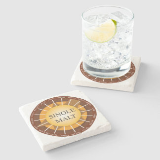 Irish Single Malt Whisky Marble Coaster Stone Coaster