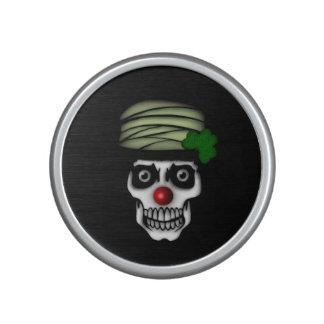 Irish Skeleton Clown Bluetooth Speaker