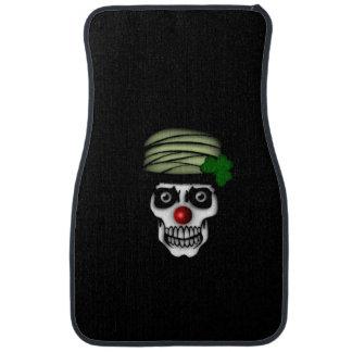 Irish Skeleton Clown Car Floor Mat