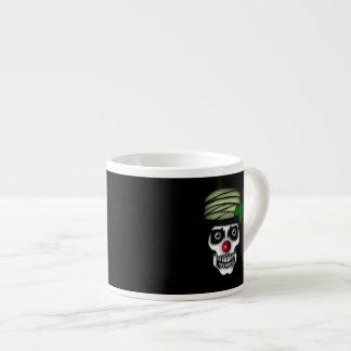 Irish Skeleton Clown Espresso Cup