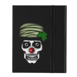 Irish Skeleton Clown iPad Case