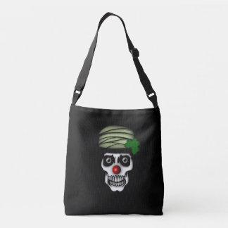 Irish Skeleton Clown Tote Bag