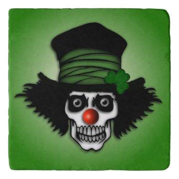 Irish Skeleton Clown Trivet