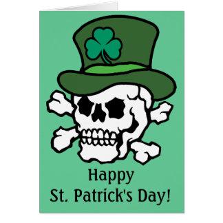 Irish Skull Greeting Cards