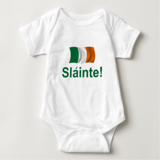 Irish Slainte! Baby Bodysuit