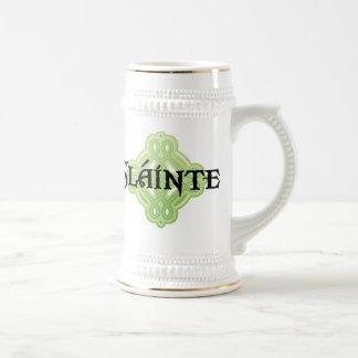 Irish Slainte Beer Stein Coffee Mug