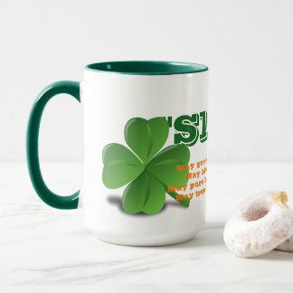 Irish Slainte with Poem St. Patrick's Day Mug