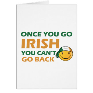 Irish Smiley designs Cards