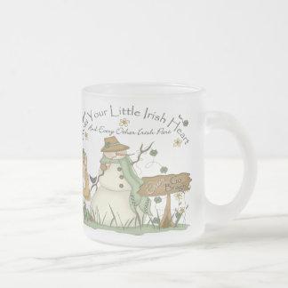 Irish Snowman Christmas Mug