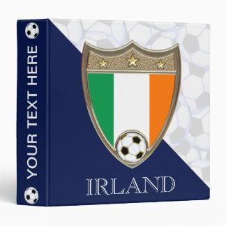"""Irish Soccer 1.5"""" Binder"""