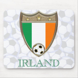 Irish Soccer Mouse Pad
