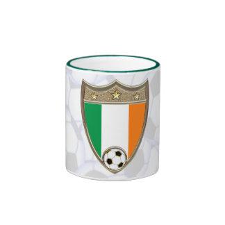 Irish Soccer Ringer Mug