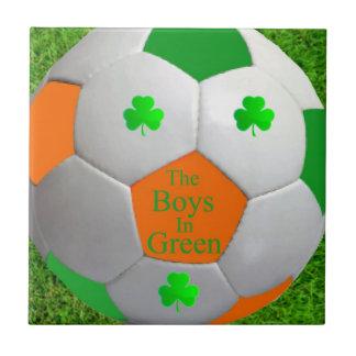 Irish soccer tile