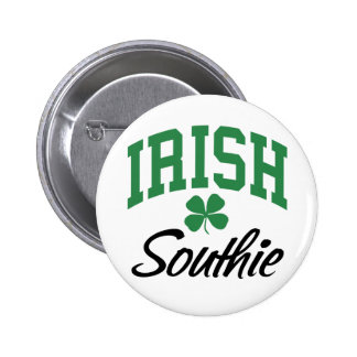 Irish Southie Pinback Button