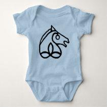 Irish Sport Horse Baby Baby Bodysuit