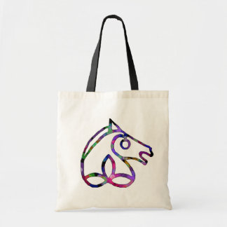 Irish Sport Horse Budget Tote Canvas Bags