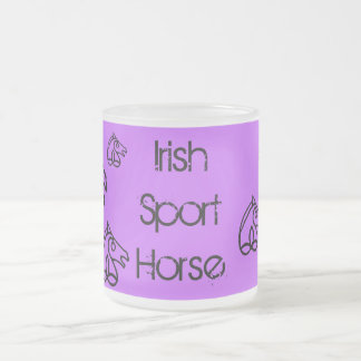 Irish Sport Horse Frosted Mug