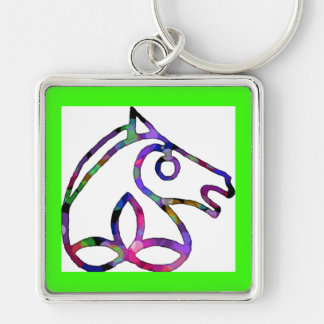 Irish Sport Horse Key Chain Large