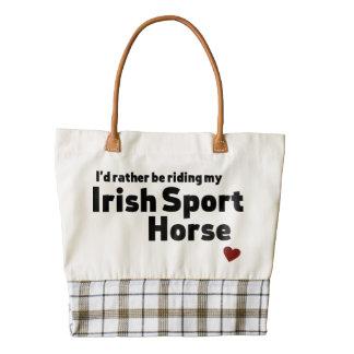 Irish Sport Horse Zazzle HEART Tote Bag