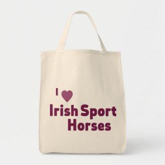 Irish Sport Horses Grocery Tote Bag