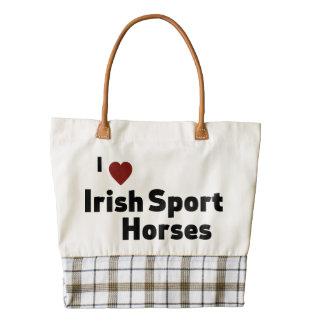 Irish Sport Horses Zazzle HEART Tote Bag