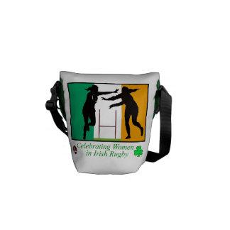 Irish Sport Image Mini Messenger Bag Outside Print