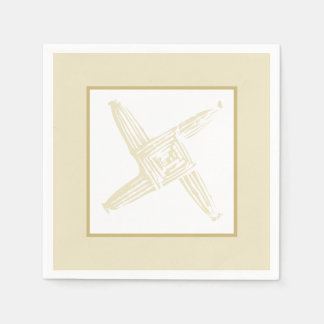 Irish St. Brigid's Cross Napkin