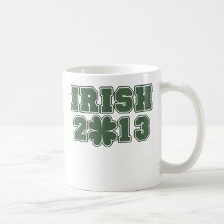 Irish St Patricks Day 2013 Classic White Coffee Mug