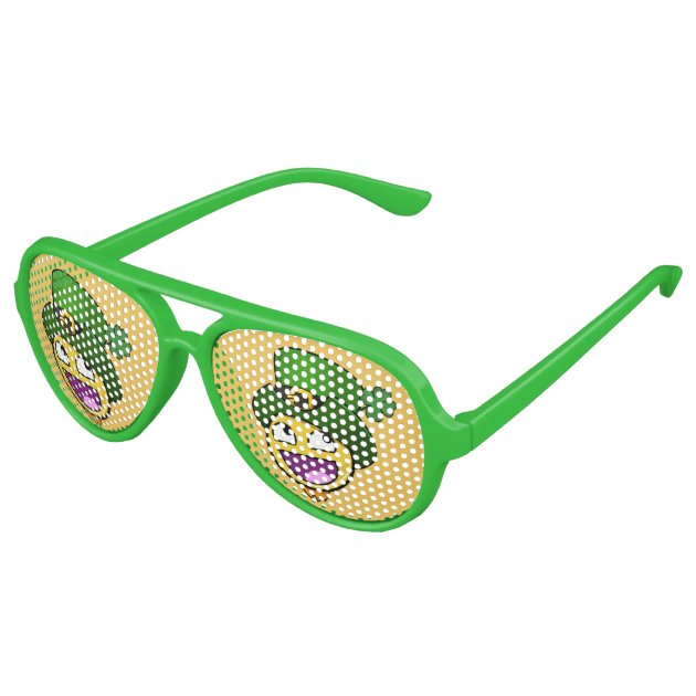 awesome sunglasses  Irish St. Patrick\u0027s Day Awesome Face Meme Aviator Sunglasses