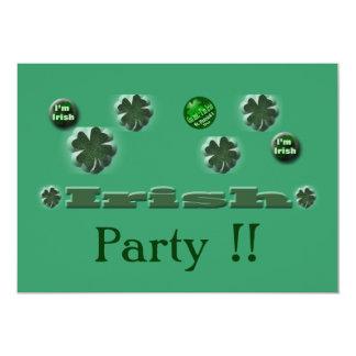 Irish St. Patrick's Day gifts Card