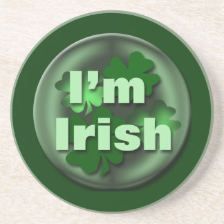 Irish St. Patrick's Day gifts Drink Coaster