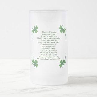 Irish St. Patricks Day Poem Mug